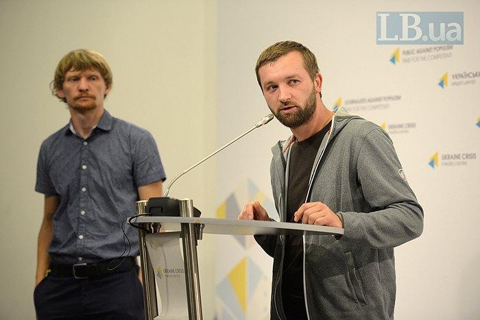 Маркиян Лысейко (справа) и Макс Левин
