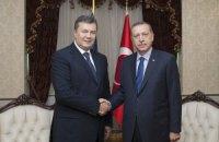 Официальный визит Президента Виктора Януковича, октябрь 2013-го Анкара, Турция