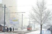 В понедельник в Киеве до -7