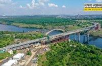 """Кран """"Захарій"""" днями повернеться до будівництва Запорізьких мостів, - ОДА"""