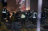 В Харькове в результате обрушения крыши торгового павильона пострадали люди (обновлено)