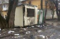 У Донецьку снаряд упав біля станції переливання крові, загинув водій