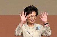 Главой администрации Гонконга  впервые стала женщина