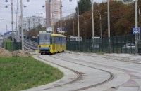 В Киеве отремонтируют 17,6 км трамвайных путей в 2012 году