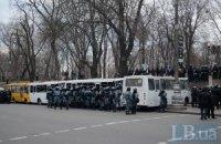 Силовиків активно стягують у центр Києва