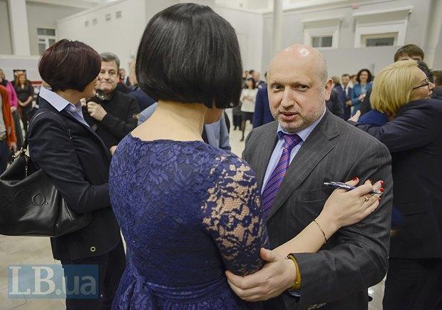 Соня Кошкина и Александр Турчинов