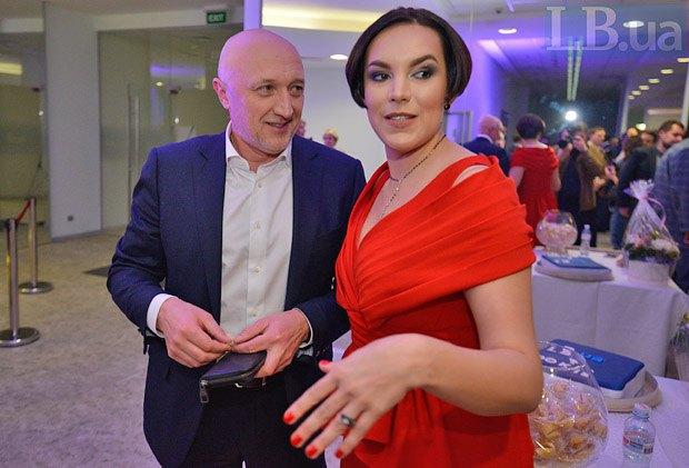 Губернатор Полтавской области Валерий Головко и Соня Кошкина