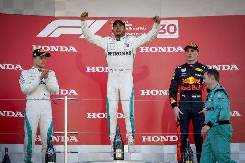Формула 1: Гамільтон виграв Гран-прі Японії
