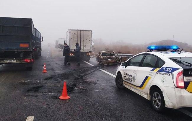 На трасі Київ-Одеса сталася велика ДТП