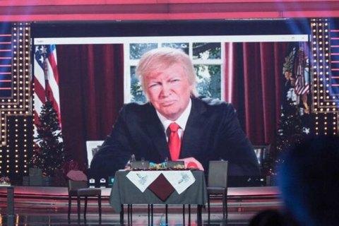 """""""Квартал 95"""" """"перепутал"""" Трампа с Зеленским, изобразив его играющим на пианино без штанов"""