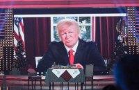 """""""Квартал 95"""" """"переплутав"""" Трампа із Зеленським, зобразивши його за грою на піаніно без штанів"""