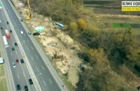 Під Києвом будують транспортні розв'язки за програмою «Велике будівництво»
