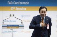 Новим гендиректором продовольчої організації ООН був обраний китаєць Цюй Дун'юй