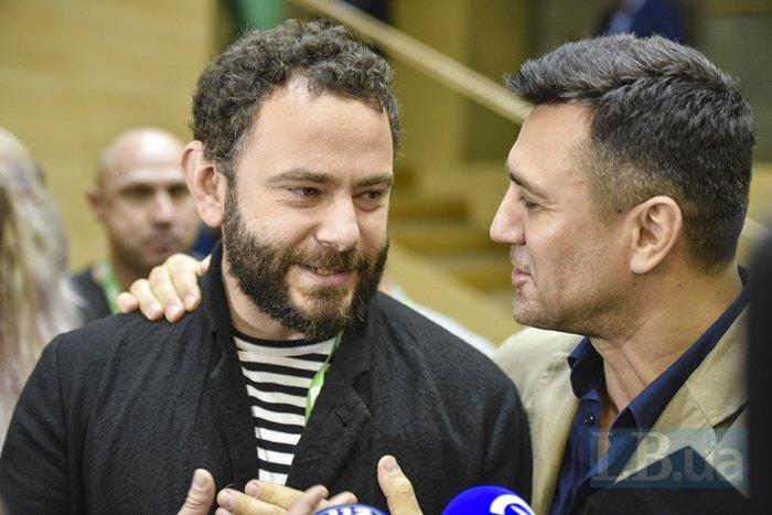 Александр Дубинский и Николай Тищенко