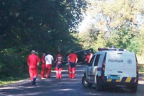 Біля Львова підірвали джип, троє загиблих (оновлено)