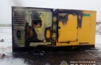 У Миколаївській області намагалися спалити асфальтний завод білоруської компанії