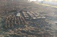229 боеприпасов времен Второй мировой нашли во дворе частного дома в Харьковской области