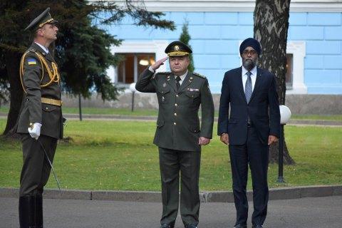 Україна запропонувала Канаді взяти участь у будівництві заводу боєприпасів
