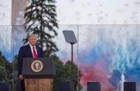 """Трамп заявил, что США пытается уничтожить """"крайне левый фашизм"""""""