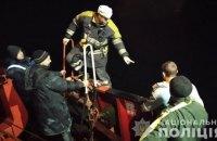 В Запорожье произошел пожар на грузовом судне, пострадал механик