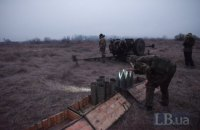 """На Донбасі ворог шість разів порушив """"тишу"""", поранено українського бійця"""