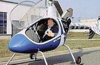 Янукович привыкает к вертолету