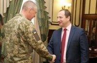 Глава Харьковской ОГА  встретился с бойцом АТО, перенесшим сложнейшую операцию на глазах