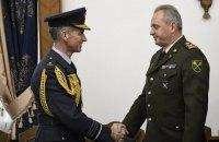 Муженко і Хілльєр обговорили перспективи підготовки українських військових льотчиків у Великобританії