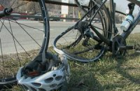 У Києві автомобіль збив групу велосипедистів і втік
