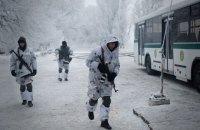 За сутки боевики дважды обстреляли позиции ВСУ на Донбассе