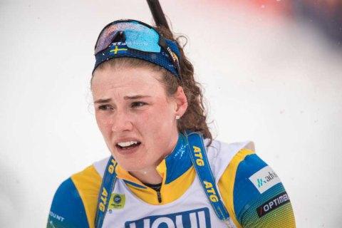 Шведская биатлонистка Эберг ответила на обвинения Пидгрушной в хамском поведении во время эстафеты ЧМ-2021