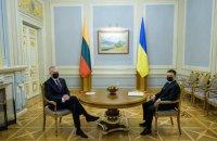 Зеленський і Наусєда підписали Спільну декларацію щодо європейської перспективи України