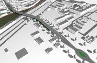 У Вишневому побудують автомобільний міст над залізницею