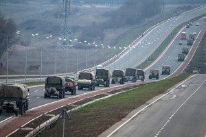 В Луганск вошла колонна из 10 грузовиков с террористами, - СМИ