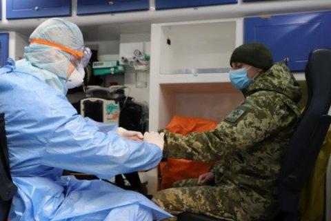 У ЗСУ за добу зафіксували 21 випадок коронавірусу
