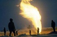 Видобуток газу та нафти в Україні спадає