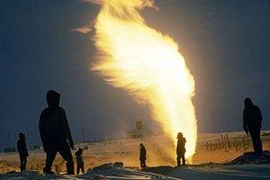 Добыча газа и нефти в Украине падает