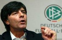 Тренер сборной Германии считает бойкот Евро-2012 бессмысленным