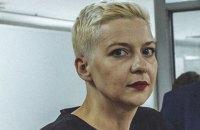 У Білорусі Колесниковій продовжили арешт до 8 листопада