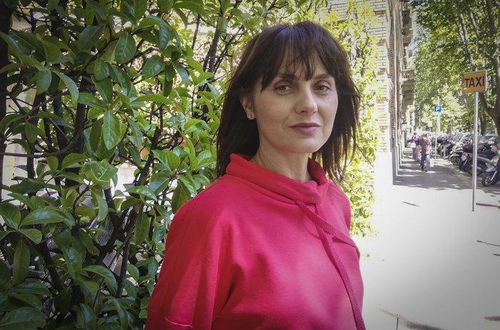 Журналістка 'Радіо Свобода' Наталка Кудрик