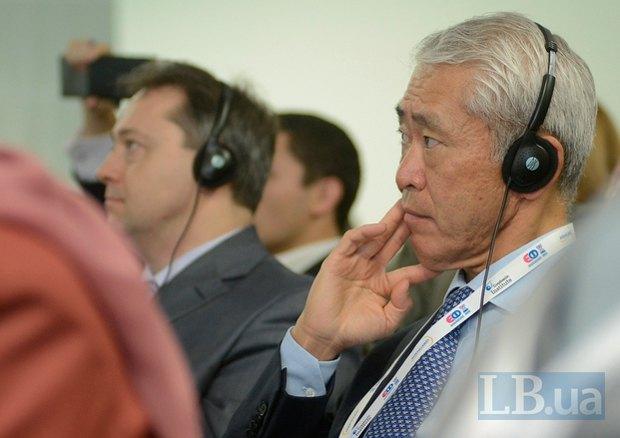 Макото Топинага, посольство Японии в Украине