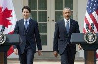 Канадский премьер впервые за 19 лет посетил Вашингтон с госвизитом