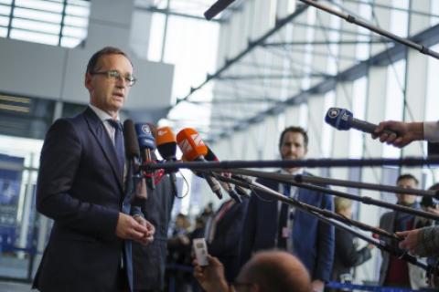 Глава МИД Германии призвал Россию выполнять Минские соглашения