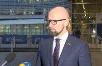 Яценюк: в ближайшие два дня могут быть усилены санкции против России