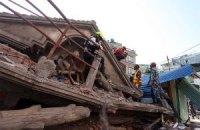 В Непале произошло новое землетрясение магнитудой 7,4 (обновлено)