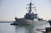 Американский эсминец Ross возвращается в Черное море