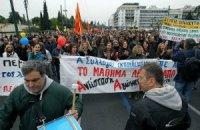 В Греции проходит всеобщая забастовка транспортников