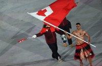 Спортсмен из Тонга прошел на церемонии открытия Олимпиады с голым торсом и в юбке