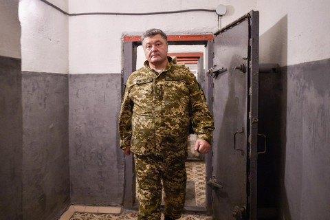 Порошенко в Краматорську провів наразу щодо ситуації в АТО