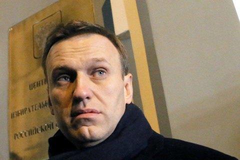 Навальний отримав 30 діб адмінарешту за акцію проти інавгурації Путіна